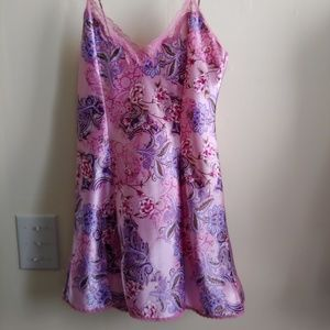 DELICATES Pink Floral Nightgown, Nightie